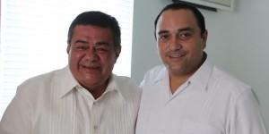 Asiste Roberto Borge al Quinto Informe del gobernador de Campeche