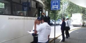 Supervisan en Veracruz que se respeten tarifas oficiales en el transporte público