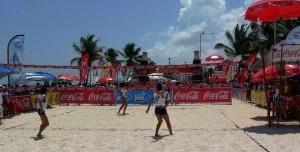Comienza el Torneo Fresca Beach de Voleibol Playero