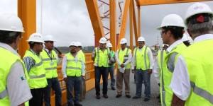 Confirman horarios de cierres del Puente Coatzacoalcos I