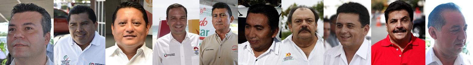 1.-Mauricio Góngora Escalante. Presidente municipal de Solidaridad