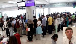 Registra Aeropuerto de Cancún incremento en el tráfico de pasajeros
