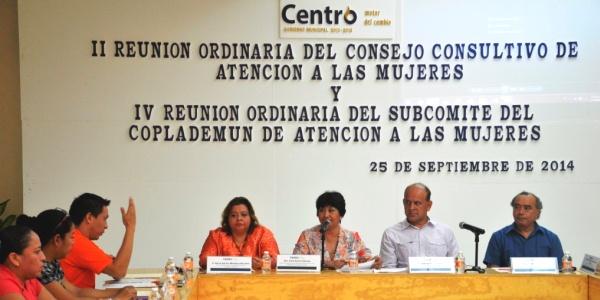CENTRO Consejo Consultivo Atención Mujeres