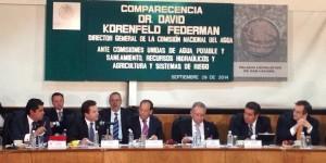 Equidad en asignación de recursos presupuestales de la Conagua para Estados pide Gaudiano