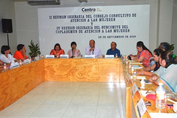 Consejo Consultivo Atención Mujeres 02