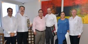 Se reúne Javier Duarte con José Narro, representantes de la ANUIES, SEP y UV