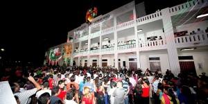 Todo listo para la ceremonia del Grito de Independencia de México en Quintana Roo