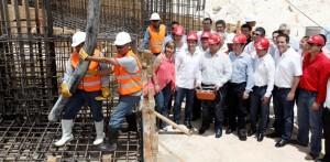 Pone en marcha el gobernador obras del Auditorio del Bienestar, Cancún