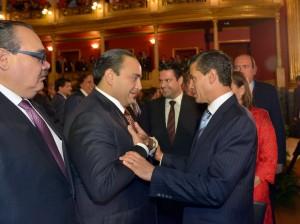 Acompaña Roberto Borge al Presidente Enrique Peña a la celebración del Dia Mundial del Turismo