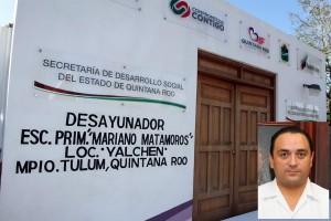 Fortalece el gobernador Roberto Borge la educación básica en Quintana Roo