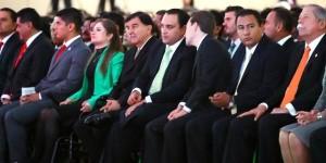 Asiste Roberto Borge al IV Informe del gobernador de Zacatecas Miguel Alonso Reyes