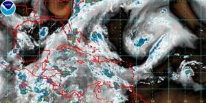 Cielo nublado en Veracruz; lluvias aisladas en el norte y la costera central