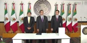 Entrega Osorio Chong II Informe Presidencial