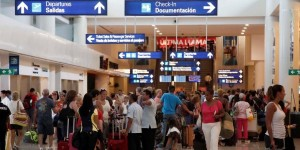 Movimiento de pasajeros en la Terminal Aérea de Cancún aumenta 10.1 por ciento
