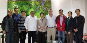 Están en Yucatán autoridades legislativas de China