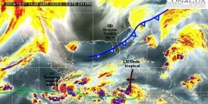 Vigila SMN comportamiento y efectos de la tormenta tropical Vance