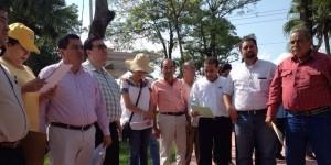 Continúan diputados de la Tercera Inspectora supervisión de obras en Huimanguillo