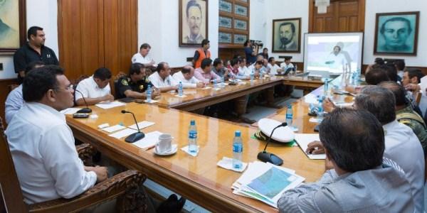 Grupo primera respuesta en Yucatan listo