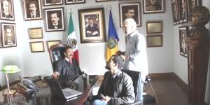 La dictadura perfecta, Carmelo Vargas en la película