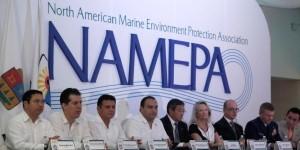 Inaugura el gobernador la Conferencia por el Día Marítimo Mundial, en Cozumel