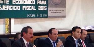 Comisión de Hacienda aprueba en lo general Ley de Ingresos de la Federación para 2015