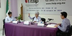 Pide el Pleno del ITAIP a Salud entregar información