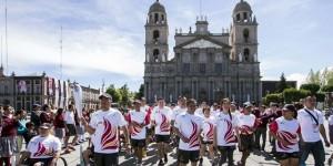 Sale antorcha centroamericana de Toluca con destino a Veracruz