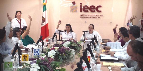 Aprueban gastos de campaña en Campeche