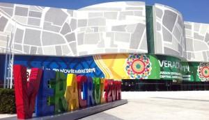 Ondearán banderas centroamericanas en explanada de WTC Veracruz