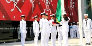 Inician izados de bandera de países participantes de Veracruz 2014