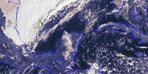 Frente frio 12 generara precipitaciones y evento de norte en la costa de Yucatán