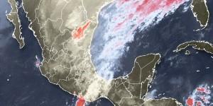 Lluvias y viento de norte en el estado de Veracruz: PC