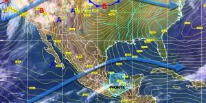Continuaran temperaturas frías y lluvias menores por Frente Frio 16