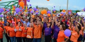 Con brigada de salud y servicios promueve DIF Coatzacoalcos la no violencia hacia la mujer