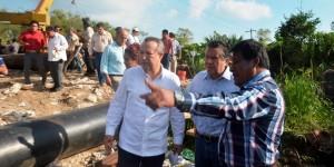 Reconoce la CONAGUA obras de Centro para mitigar anegamientos