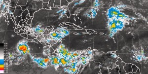 Lluvias fuertes se prevén en Tabasco, Chiapas, Oaxaca, Puebla y Veracruz
