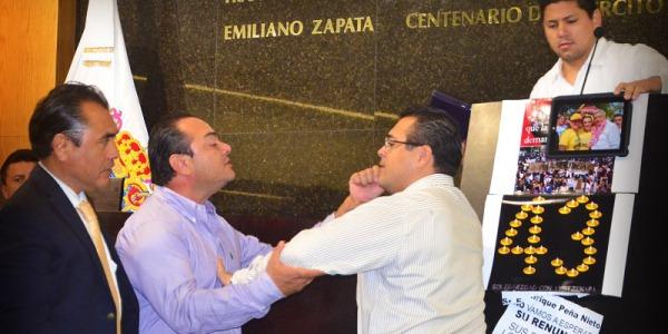 Congreso de Campeche un ring