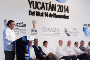 Inauguran en Yucatán la XVIII Convención Anual y Expo Aneas 2014