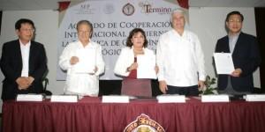 Coperacion academica Corea y Yucatan