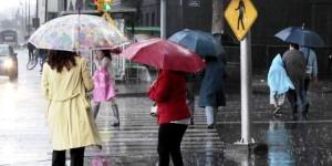 Continuara descenso de temperatura, lluvias y viento fuerte en diversas entidades del país