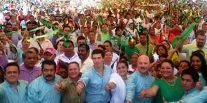 El Verde en Tabasco sin alianzas