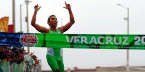Gana xalapeño, Crisanto Grajales, primera medalla de oro de los JCC Veracruz 2014