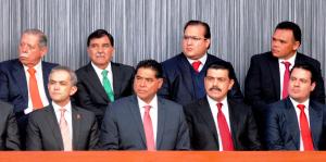 En Veracruz, respaldo absoluto al presidente Enrique Peña Nieto