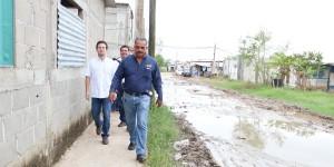 Lleva Gerardo Gaudiano brigadas a zonas afectadas por lluvias