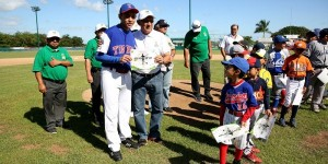 Niños y jóvenes yucatecos hacen gala de sus habilidades deportivas en Juego de Estrellas