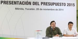 Presentan Presupuesto 2015 para Yucatán