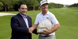 Encabeza el gobernador ceremonia de premiación del torneo Mayacoba Golf Classic 2014