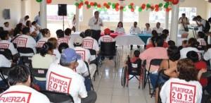 Renuncian militantes del PRD en Tabasco y se afilian al PRI