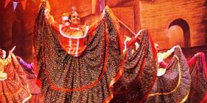 Estampas regionales, de folclor nacional y de espectáculos, conforman el programa
