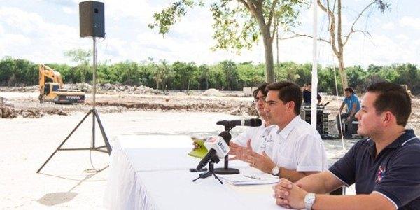 obra del nuevo congreso en Yucatan